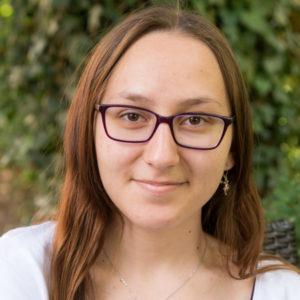 Evangelia Fotiadou, Auszubildende in der HausarztPraxis Zabo in Nürnberg.